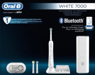 Oral B WHITE 7000 SmartSeries toothbrush