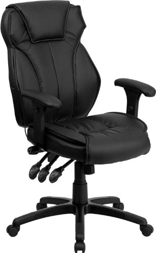 Flash Furniture High Back Leather Chair