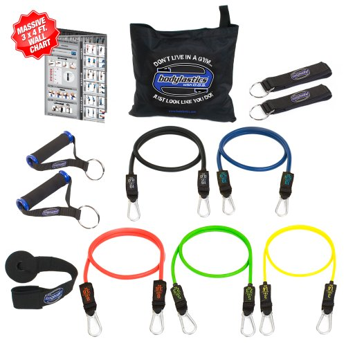 Bodylastics 12 Piece Resistance Band Set