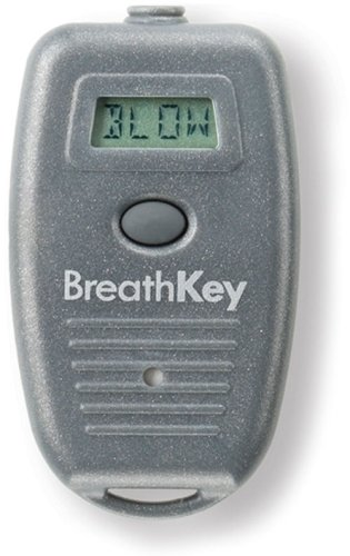 BreathKey Keychain Breath Alcohol Tester with Fuel Cell Sensor - World's Smallest Breathalyzer