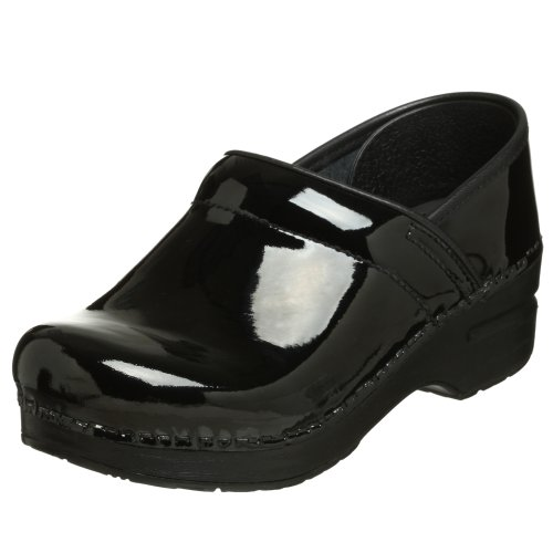 Dansko Women's Professional Patent Clog -Best Shoe for Nurses