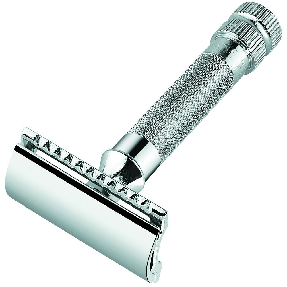 Merkur Heavy Duty Straight Cut Safety Razor