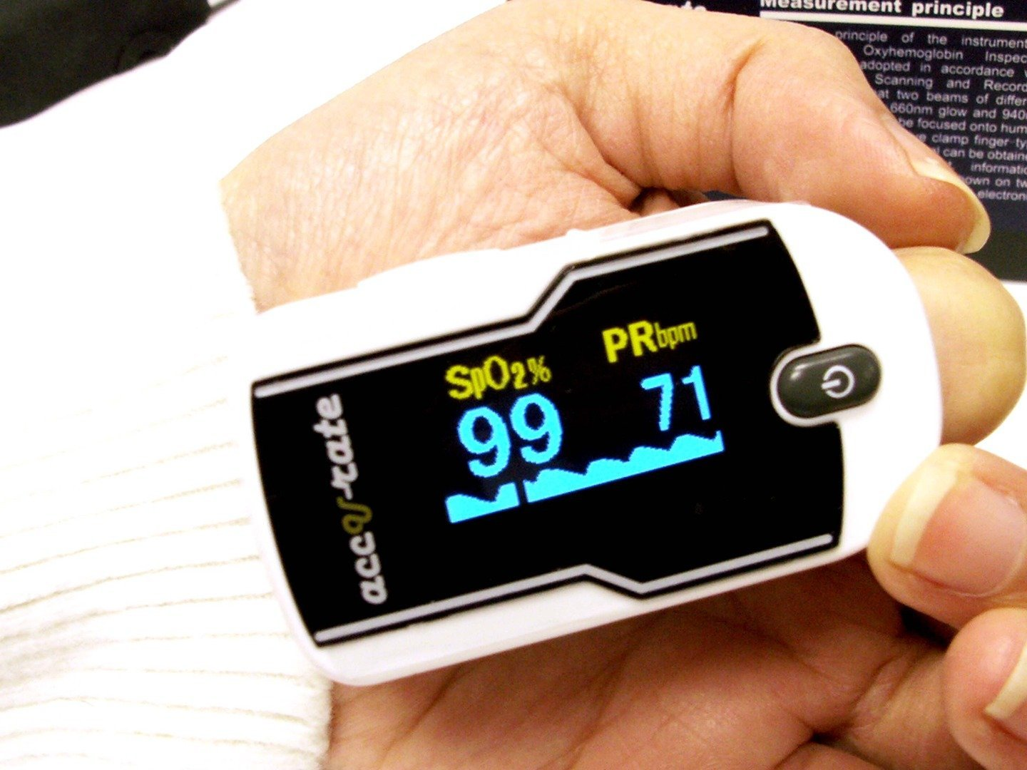 Acc U Rate Premium Pulse Oximeter