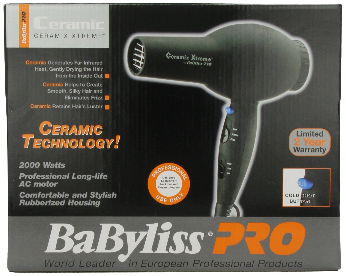 BaByliss Pro Ceramix Xtreme - Best Hair Dryer Reviews