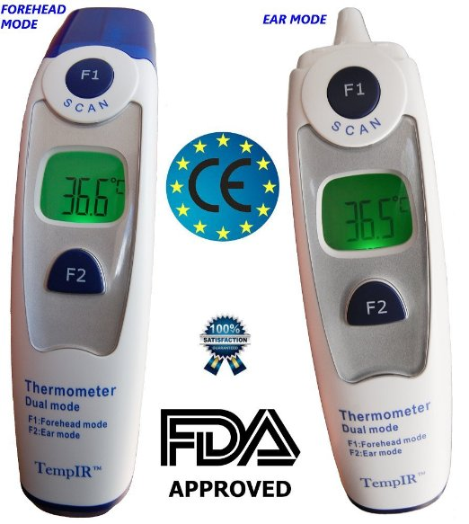 Professional Clinical Large LCD Non-contact Infrared Thermometer