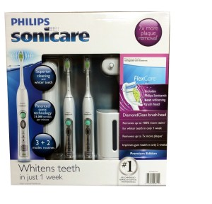 Philips Sonicare Flexcare Rechargeable Sonic Toothbrush Premium Edition 2 pack