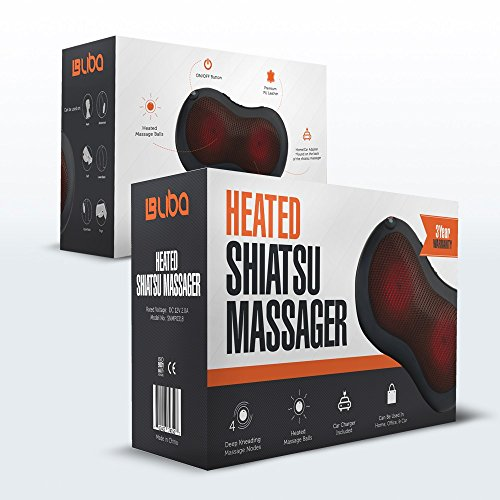 Shiatsu Neck & Back Neck Massager Pillow