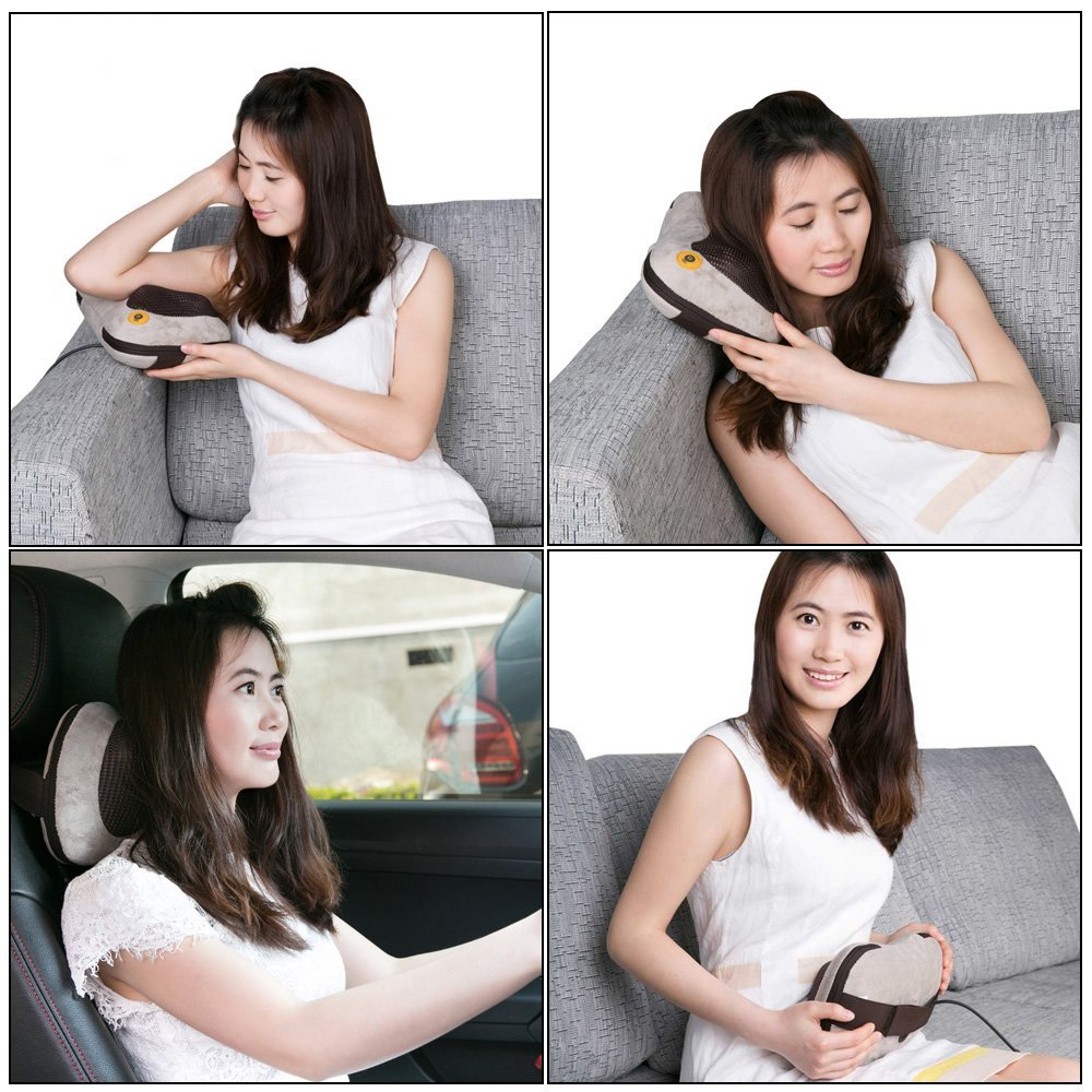 GESS129 Shiatsu Massage Pillow With Heat