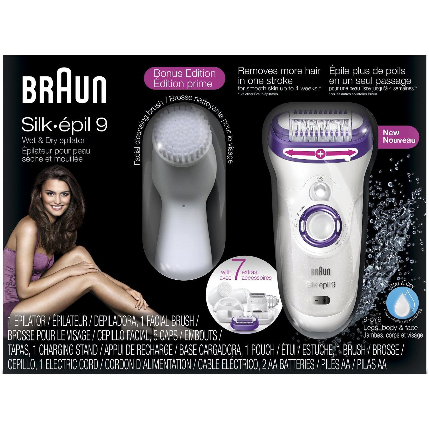 Braun Silk-Epil 9 Best Epilator Reviews