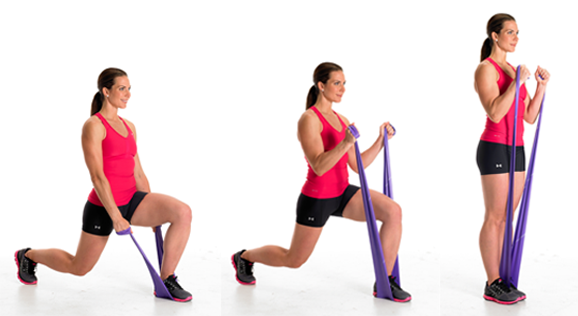 Resistance band exercices