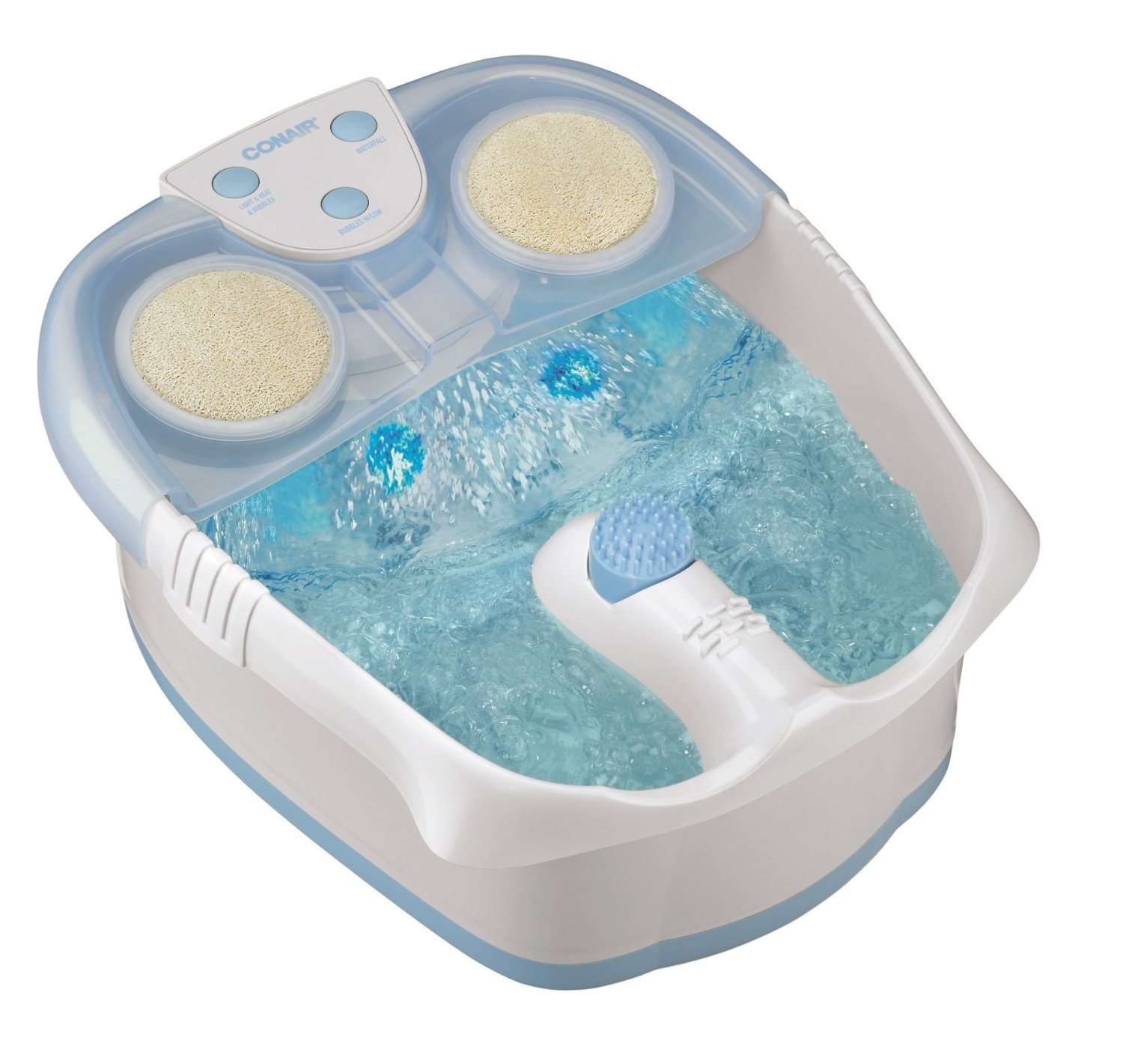 Conair Waterfall Best Foot Spa with Lights, Bubbles and Heat