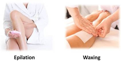 epilator vs waxing