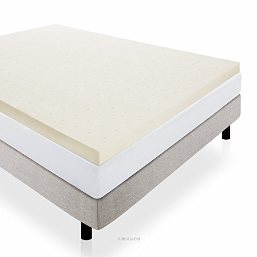 Lucid® 3 Inch Foam Mattress Topper