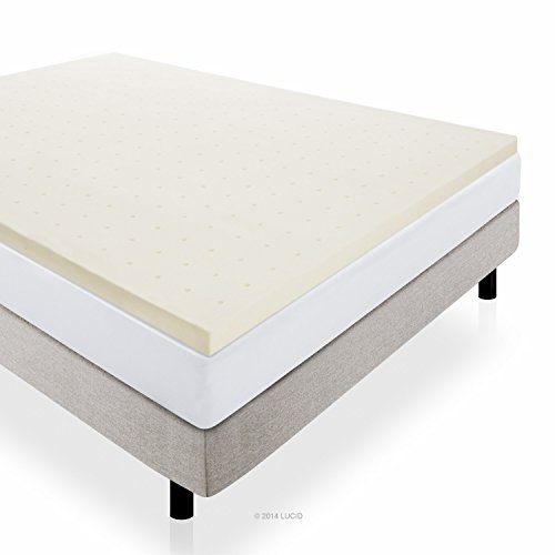 Lucid® by Linenspa Foam Mattress Topper