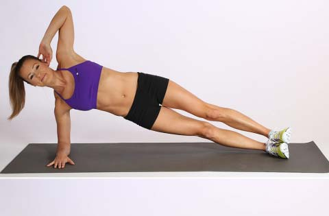 Try the side plank move